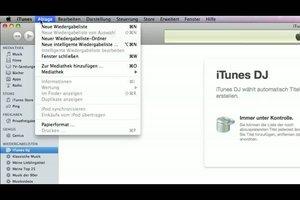 Ordner in iTunes erstellen - Anleitung
