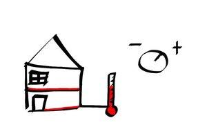 Vorlauftemperatur bei einer Fußbodenheizung - so stellen Sie sie richtig ein