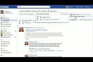 Bei Facebook den Geburtstagskalender nutzen - so geht´s