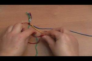 Armband knüpfen - Anleitung zum Selbermachen