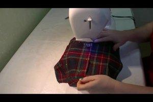 Tasche nähen - Anleitung für eine Ledertasche