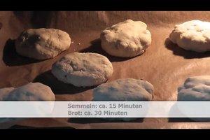 Mit Quinoa ohne Gluten backen - Rezept für Brötchen