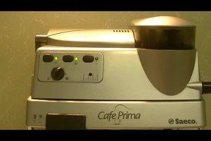Saeco Kaffeemaschine entlüften - so geht's