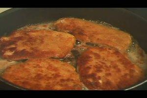 Schnitzel Wiener Art zubereiten - Rezept