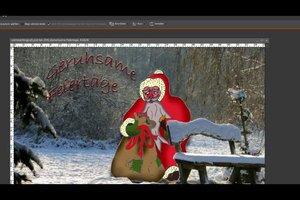 Weihnachtskarte schreiben - so geht's
