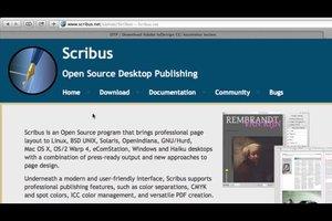 Statt InDesign - OpenSource-Alternative nutzen