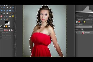 Bildbearbeitung : Person ausschneiden - so geht's mit GIMP