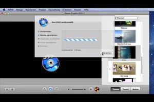 Video-DVD brennen auf dem Mac - so geht's mit iMovie
