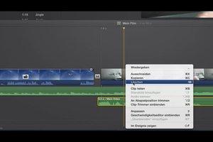 Videos bearbeiten am Mac - so geht's