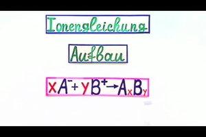 Ionengleichung - eine einfache Erklärung
