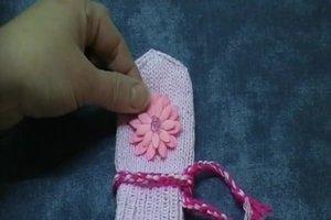 Baby - Handschuhe stricken