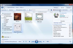 Audio-CD brennen mit Windows 7 - so funktioniert's