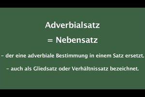 Adverbialsätze umformen - so gelingt's