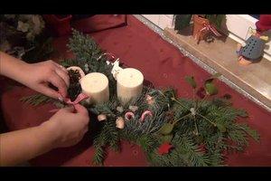 Blumengestecke selber machen - Anleitung für Gestecke zur Weihnachtszeit