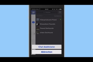 iPhone: Im Facebook-Chat offline anzeigen lassen - so geht's