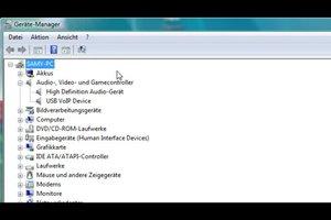 Audiogerät installieren - so geht´s in Vista