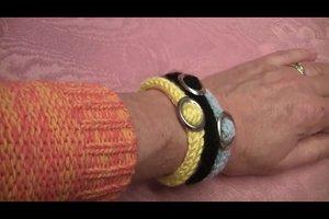 Mit Knotentechniken ein Armband basteln - Anleitung