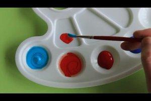 Was ergibt Rot und Blau? - Informatives übers Farbenmischen