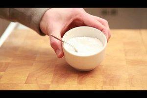 Puderzuckerglasur selber machen