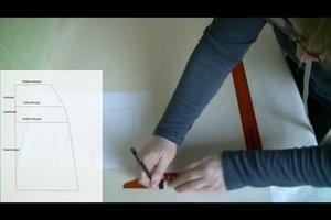 Nähen einfach gemacht - Anleitung für einen Rock in A-Form