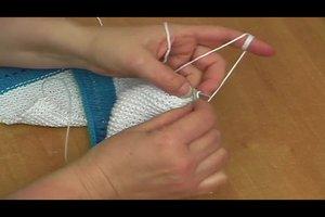 Erstlingsmütze stricken - eine einfache Anleitung