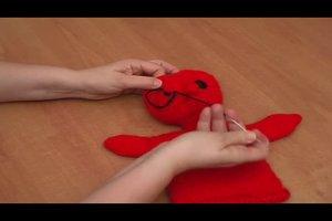 Handpuppen stricken - eine Strickanleitung