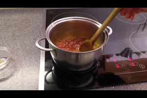 Apfeldicksaft herstellen - ein Rezept