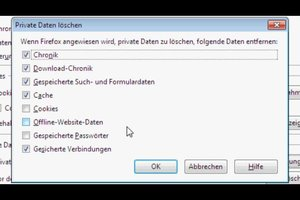 Firefox - Download-Liste automatisch leeren lassen