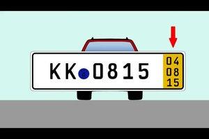 5-Tages-Kennzeichen - so überführen Sie Ihr Fahrzeug ordnungsgemäß