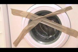 Waschmaschine liegend transportieren - so macht man das richtig