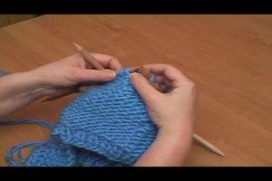 Moderne Mütze stricken - Anleitung
