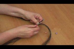 Armband aus Pferdehaar selber machen - so gelingt's