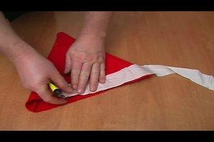 Nikolausmützen selber machen - Nähanleitung