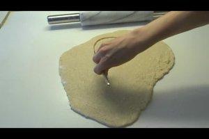 Herzkuchen ohne Form backen - so wird's gemacht