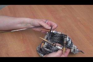 Filzpantoffeln - eine Strickanleitung passend für alle Größen