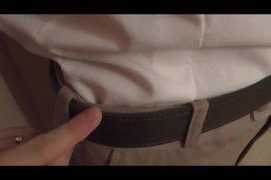 Hemd rutscht aus der Hose - so schaffen Sie Abhilfe