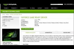 Nvidia-Grafikkarte - Fehlercode 43 beheben