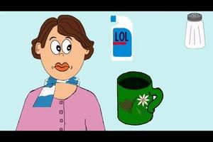 Angina mit Hausmittel lindern