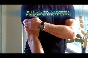 Sehnenentzündung im Oberarm - so verschaffen Sie sich Linderung