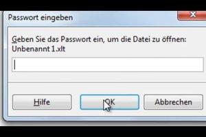 Excel: das Passwort vergessen - so geht es trotzdem