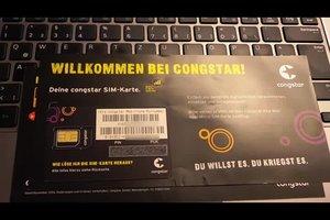 Congstar freischalten - so schalten Sie Ihre SIM-Karte frei