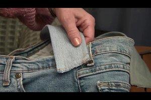 Jeanstaschen selber nähen - eine Anleitung