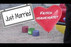 Lustige Hochzeitsideen - die Hochzeit unvergesslich feiern