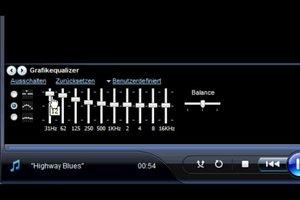 Windows Media Player - Equalizer individuell einstellen