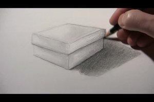 Schatten zeichnen - so geht´s mit dem Bleistift
