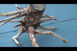 Gartendeko basteln - so geht's mit Holz