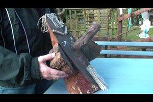 Holzfiguren für den Garten selber bauen - so geht's