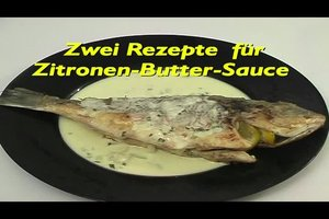 Zitronen-Butter-Sauce - Rezepte