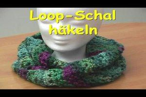 Loop-Schal häkeln - Anleitung für Anfänger