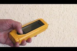 Feuchtigkeit in Wänden messen - so funktioniert's